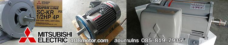 มอเตอร์ไฟฟ้า-มิตซูบิชิ ( induction-motor-mitsubishi )